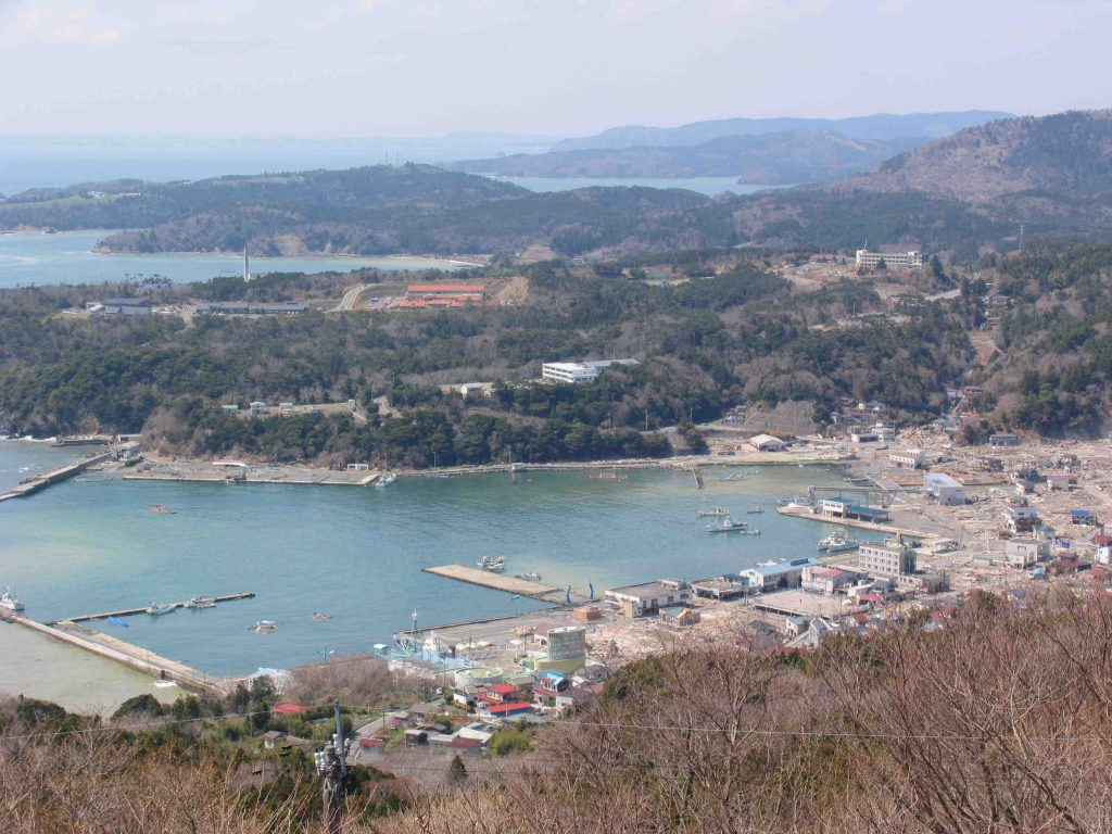 Ayukawa Port just after the Great Tohoku Earthquake in 2011